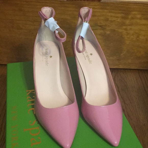 72a21437d022 Brand New KS Janette Pink Patent Leather Pumps. NWT. kate spade